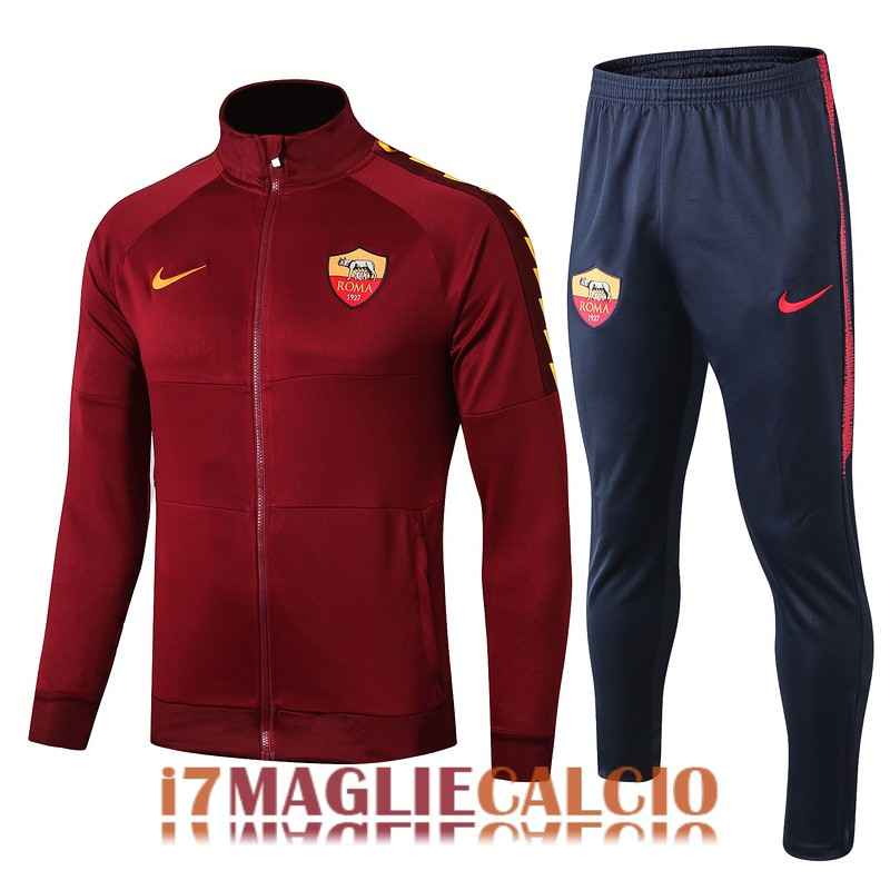 giacca as roma rosso 2019 2020